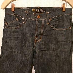 Rock & Republic Dark Rinse Women's Jeans.